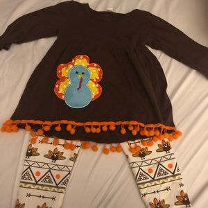 Other - Adorable Thanksgiving outfit! Worn once!